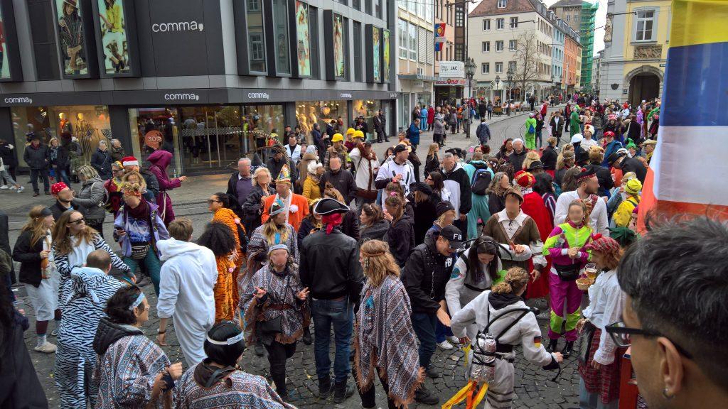 Straßenkarneval in Würzburg | Foto: Robert Behrendt